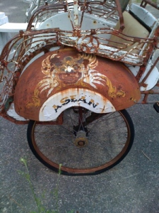 Rickshaw, a photo I took in Great Barrington, MA