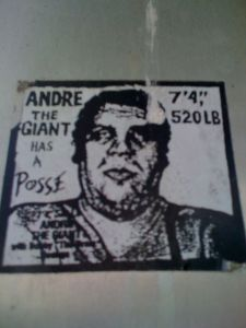 Andre the Giant Sticker