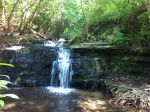 Cascade Falls–a great place to cool off