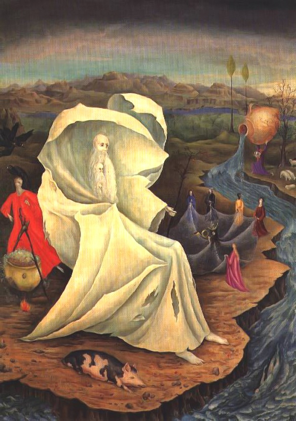 Temptation of St. Anthony by Leonora Carrington
