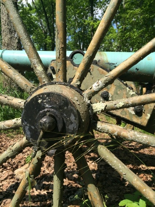 Civil War Cannon, Kennesaw Mountain